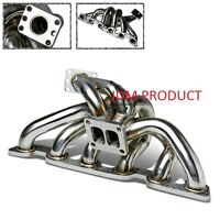 T4 TOP MOUNT TURBO EXHAUST MANIFOLD for NISSAN SKYLINE R32 R33 R34 GTR RB26
