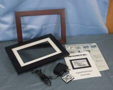 Pandigital 7 Inch Digital Photo Frame w/ Interchangable Frames dq