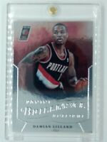2012-13 Panini Brilliance Damian Lillard Rookie RC #283, Portland Trailblazers