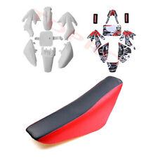 White Fender/Plastics + Stickers + Seat CRF50 50/70/90/110/125cc Pit Dirt Bike