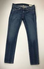 RAG & BONE HEAVYWEIGHT DENIM -  SKINNY in UNITED WASH    size 25 / inseam 30
