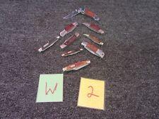 9 BUCK NRA SOG POCKET KNIFE KNIVES TRAVEL CUT CAMPING SURVIVAL HAND WOOD FOLD