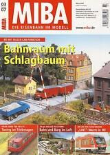 MIBA - Eisenbahn im Modell - März 2007 - Modell, Landschaft, Dioramen, Tipps