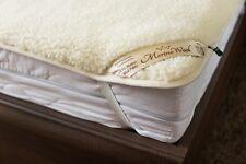 Merino Wool & Coton sous Couverture Lit Double Housse Protège-matelas 140/200cm