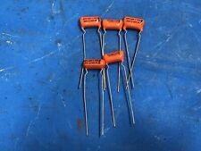 6 Capacitors .005uf 600V 10% SPRAGUE Orange Drop 6PS-D50 NOS 1970's Guitar Tone