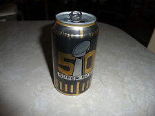 Bud Light 50 Year Super Bowl Collectible 12 Oz Empty Can