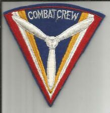 WW 2 US Army Air Force Combat Crew Wool Patch Inv# B102