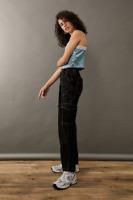 RRP - £55.00 BDG Contrast Stitch Skate Jeans, Black, Size 30W / 32L