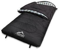 Schlafsack 4-in-1-Funktion Extrem Outdoor bis -40°C - 500 + 250 g/m² Füllung