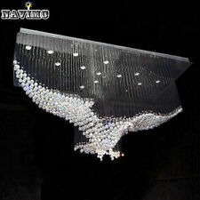 Modern Eagles Design Crystal Chandelier Lighting Lustre Hall Crystal LED Lights
