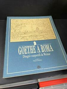 B62 GOETHE A ROMA - disegni e acquerelli da Weimar