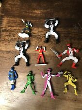 Vintage Bandai Mighty Morphin Power Rangers Figure - Mini PVC Lot X