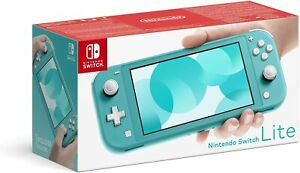 Nintendo Switch Lite 32GB Turquoise Refurbished