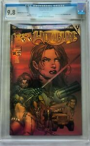 Image Comics Witchblade #50 Dynamic Forces Chrome Ching Wraparound Cover CGC 9.8