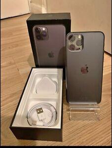 Apple iPhone 11 Pro Max - 64GB - Space Grey (Unlocked) A2218 (CDMA + GSM)