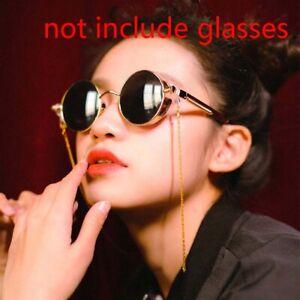 Simple Metal Cord Glasses Strap Anti-slip Fashion Men Women Sunglasses Chain.