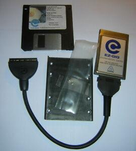 "Vtg Apricorn EZ-GIG PCMCIA Laptop Notebook 2.5"" Hard Drive Adapter Kit Win 95 98"