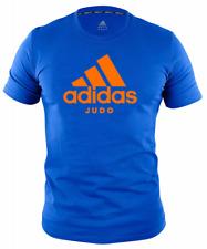 "ADIDAS COMMUNITY LINE T-SHIRT JUDO ""PERFORMANCE"" BLUE/LIGHT , Gr. S - XL, Judo,"