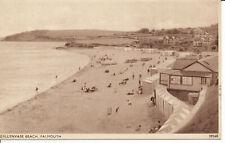 PC27696 Gyllynvase Beach. Falmouth. Sweetman. Solograph. No 39568