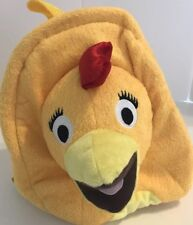 Chica Chick Travel Buddies Plush Backpack from The Sunny Side Up Show Sprout