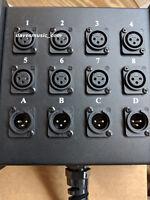 RapcoHorizon StageMaster Audio Snake 8x4-25 - 8 Channel, 25 Feet, 4 XLR Returns