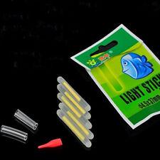 5pcs Outdoor Fishing Chemical Light Fluorescent Rod Clip On Dark Glow Stick CN