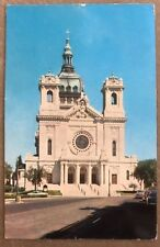Vintage Basilica Of St. Mary Minneapolis Minnesota City Of Lakes And Parks