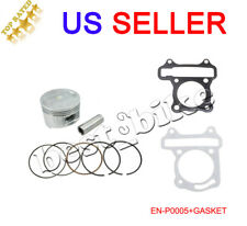 GY6 150cc scooter Piston rings spring pin 57mm Scooter ATV Go Kart Engine