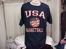 """Official Usa Basketball Team Issued """"Takes On The World"""" S/S T-shirt Size- Xl"""