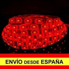Tira LED SMD 90cm Auto Adhesivo Coche Decoración Acuario Rojo a0958