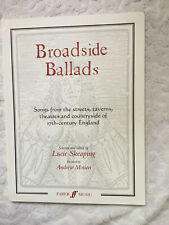 Broadside Ballads: Songs from England taverns etc   Lucie Skeaping Renaissance