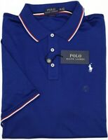 NWT $89 Polo Ralph Lauren Short Sleeve Blue Shirt Mens Size XXL Classic Fit NEW