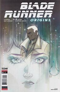 BLADE RUNNER ORIGINS #1 (1ST PRINT)(PEACH MOMOKO VARIANT) COMIC ~ Titan Comics