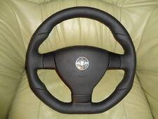 GTI R linetuning volante de cuero vw golf 5 Passat eos Tiguan abajo aplanada Top
