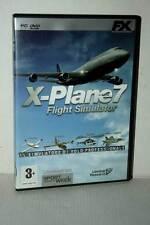 X-PLANE 7 FLIGHT SIMULATOR GIOCO USATO PC DVD VERSIONE ITALIANA GD1 49134