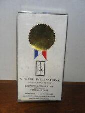 California Golden Brass Zephyr Series N Gauge International N Scale Car Kit NIB