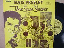 ELVIS PRESLEY INTERVIEWS & MEMORIES OF THE SUN YEARS LP Best story/song excerpts