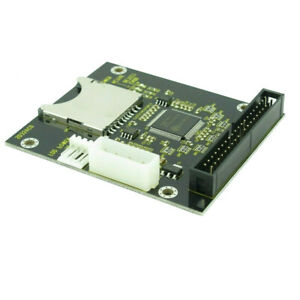 """SD SDHC Memory Card to 3.5"""" 40 Pin Male IDE Hard Disk Drive Adapter Converter"""