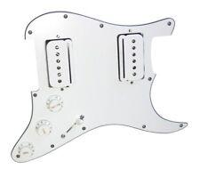 Seymour Duncan P-Rails HH Loaded Strat Pickguard White / White