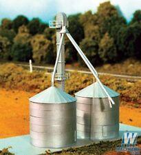 Rix Products N Scale 628-708 Grain Elevator & Grain Bins Kit