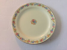 gold Trim pattern Taylor Smith /& Taylor China Serving Platter Vintage 13 Oval Serving Platter in the Leaf O/'gold