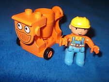 LEGO DUPLO 1 X MIXI von Bob der Baumeister + 1 X BOB DER BAUMEISTER FIGUR MANN
