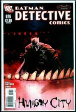DC DETECTIVE Comics #876 BATMAN  Hungry City NM 9.4
