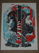 The Black Keys Tyler Stout signed numbered concert poster Portland 2010 Oregon