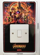 Infinity Wars 1 - Avengers Light Switch Surround Sticker vinyl cover skin