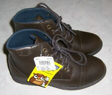 SMART FIT Lincoln NEW Youth Size 13 Brown Lace Up Boots Shoes