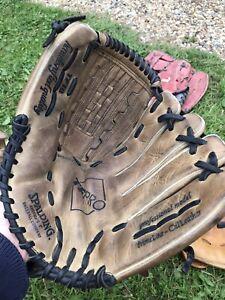 Spalding Baseball / Softball Glove 42-661 Players series Left Hand TF18 Pro