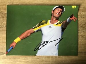 Andy Murray Tennis Signed Photo