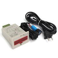 6-Digit 100-240VAC 999999 LED Display Digital UP Counter+NPN Proximity sensor
