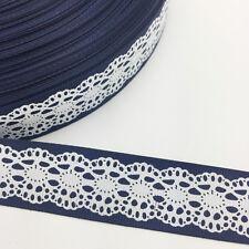 NEW DIY  5  Yards 1'' 25mm Printed Grosgrain Ribbon Hair Bow Sewing 11